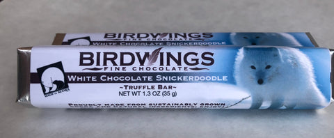 Carmelized White Chocolate Snickerdoodle Truffle Bar