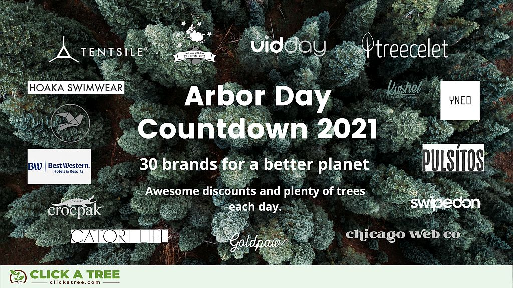 Guest blog: Click A Tree's Arbor Day Countdown