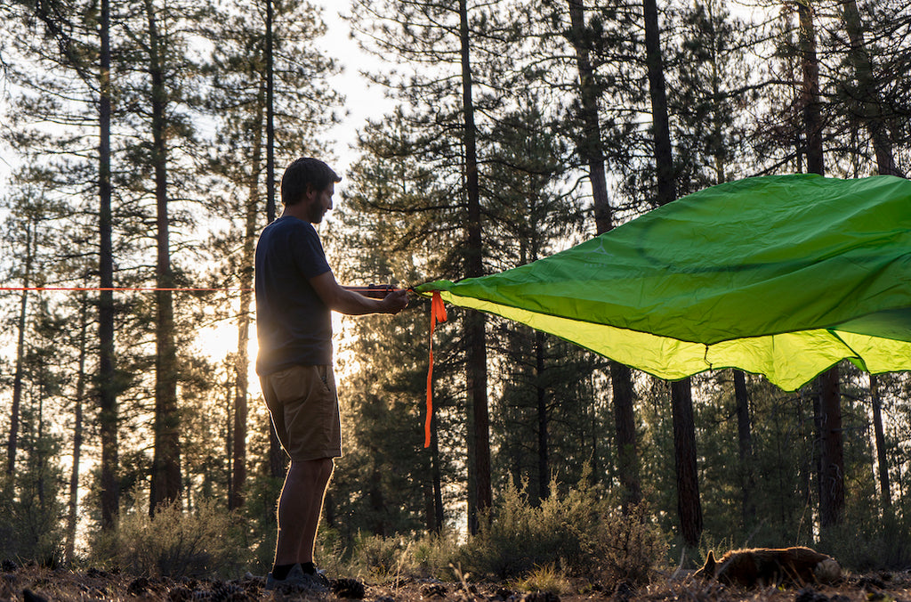 How to Hang Your Camping Hammock