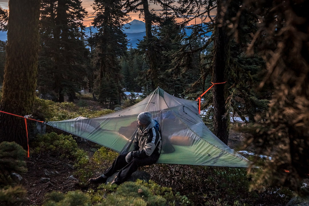Backpacking hammocks you can use as a tent