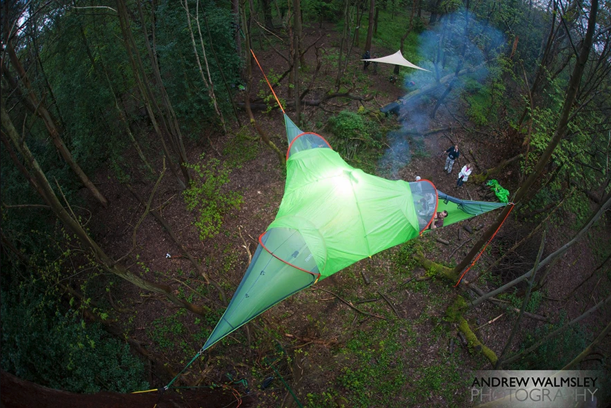 Camping with a Hammock - Tentsile