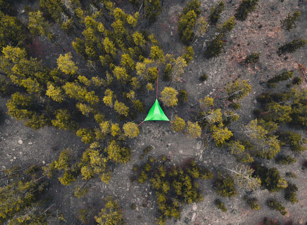 How To 'Leave No Trace' While Tree Tent and Hammock Camping