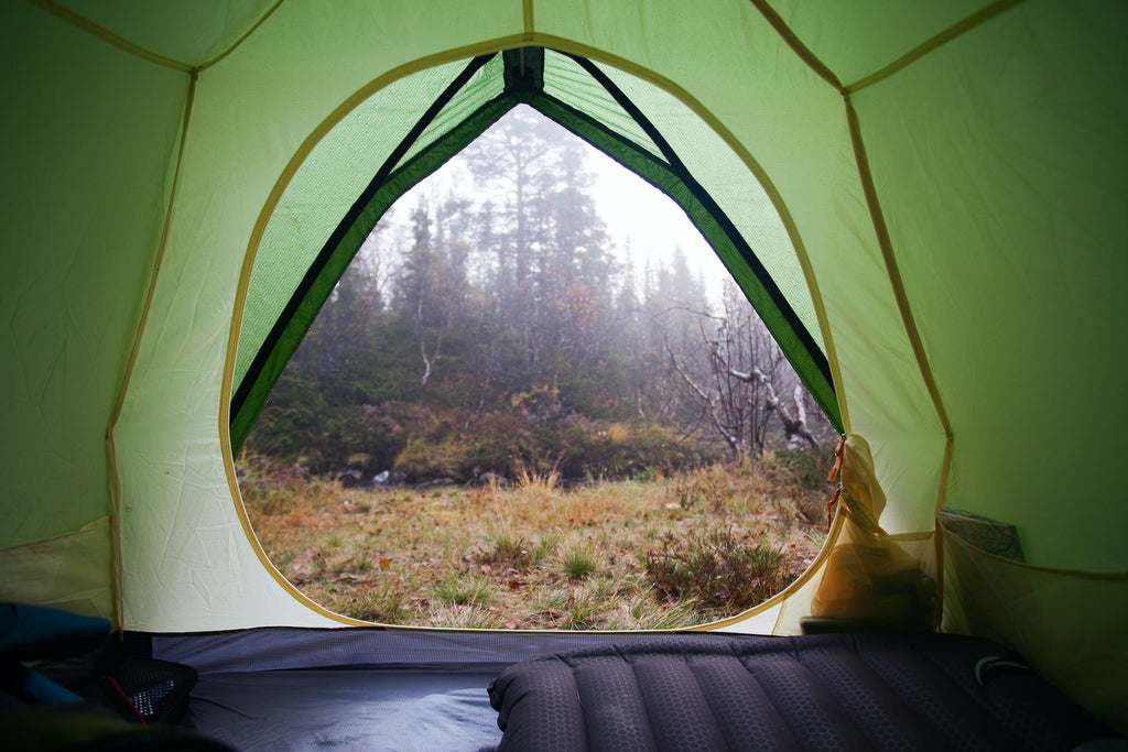 Tips for camping i regnet