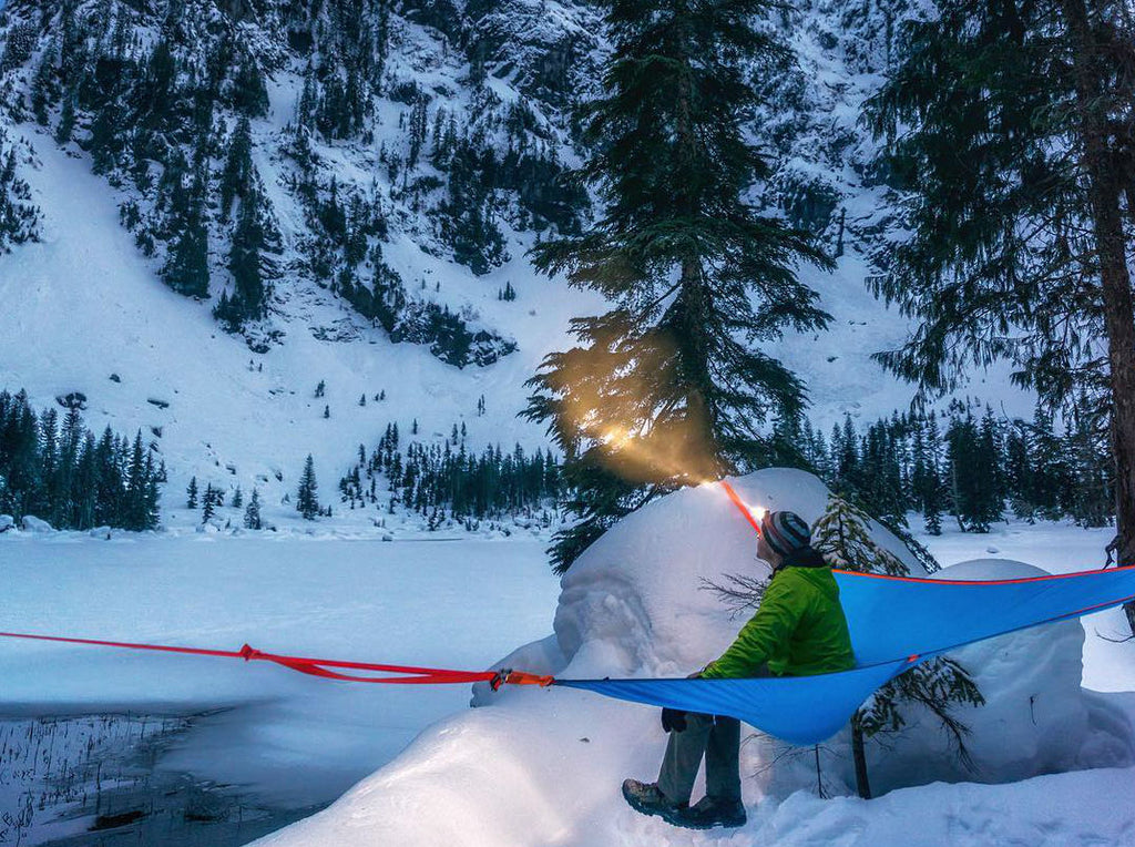 5 Ways to Stay Warm in Your Tree Tent This Winter