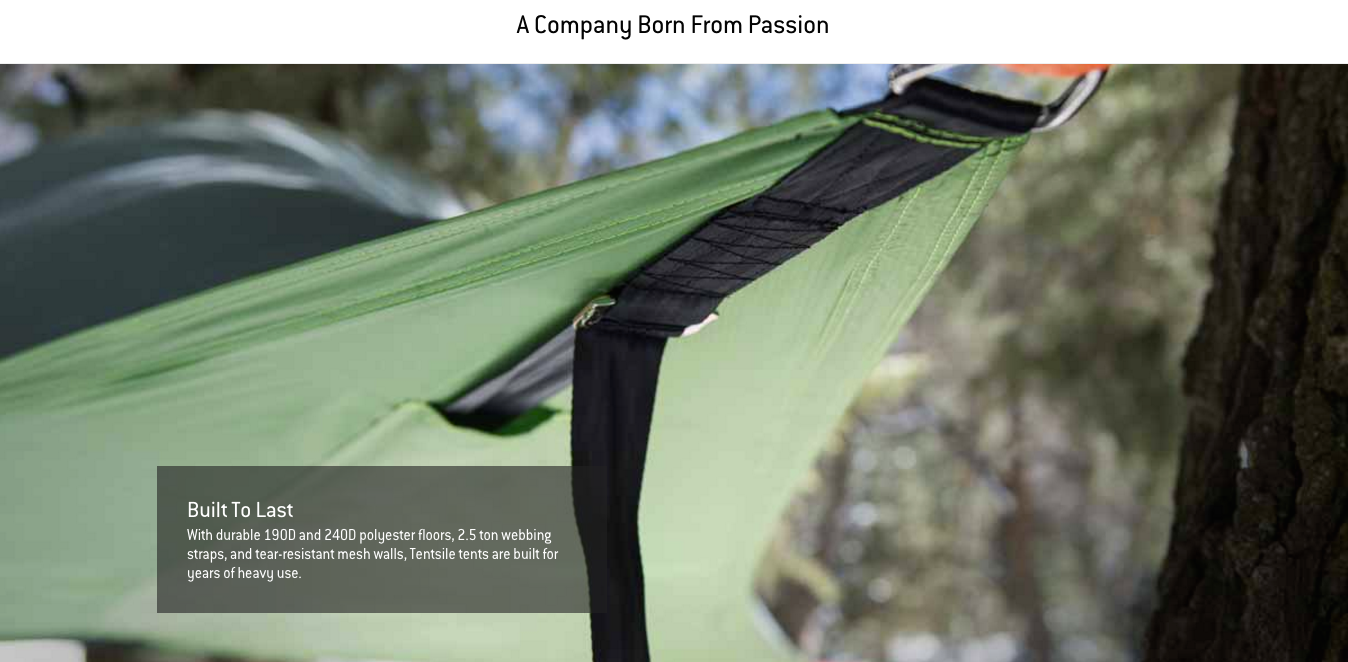 March 2012 A leading green design forum Inhabitat features the Tentsile Giant prototype praising the conceptu0027s unique advantages over ground-based tents ... & About us - Tentsile tree tents