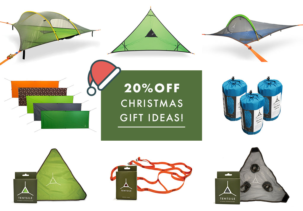 Christmas gifts from Tentsile Tree Tents