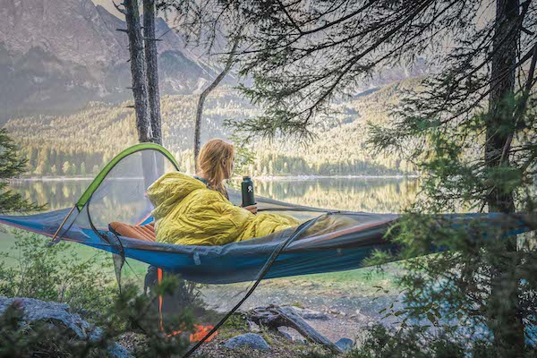 Best ways to set up a hammock - for sleeping