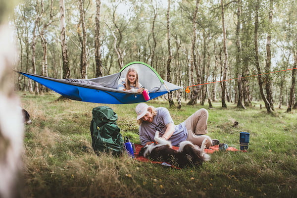 1 person tent hammock