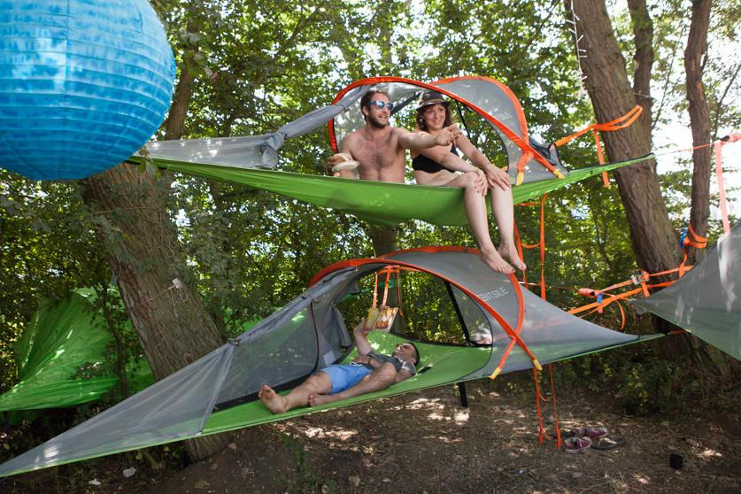 Tentsile Stingray Tree Tent 3 Person Suspended Camping