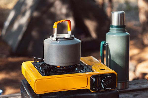 Car camping checklist for cooking