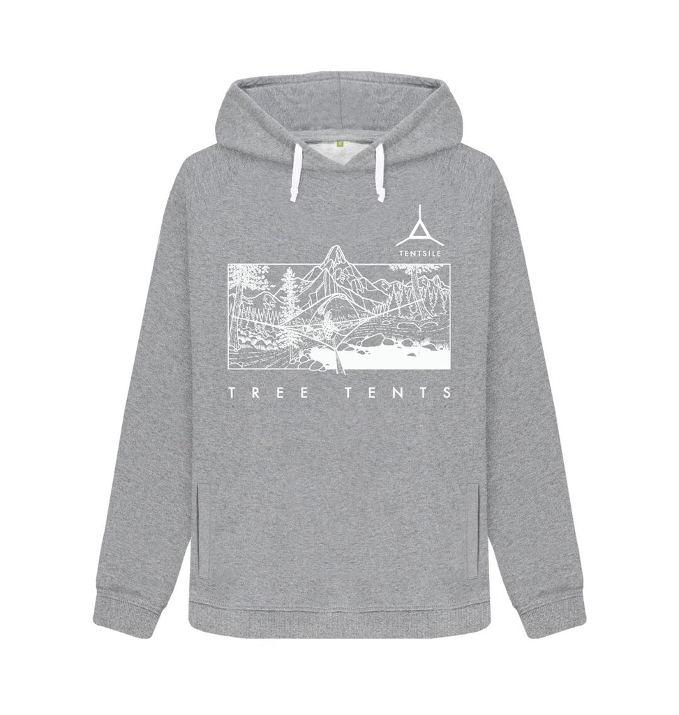 Light Heather Tentsile Mountain Hoodie Female