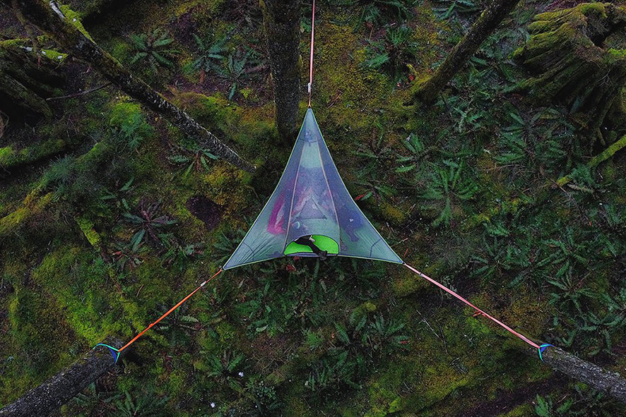 Stingray Tree Tent & Tentsile Stingray Tree Tent - 3 Person Suspended Camping Shelter