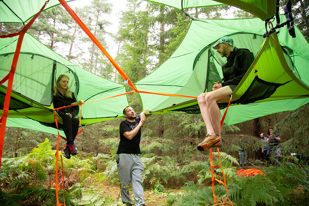 Suspended Tree House Tent