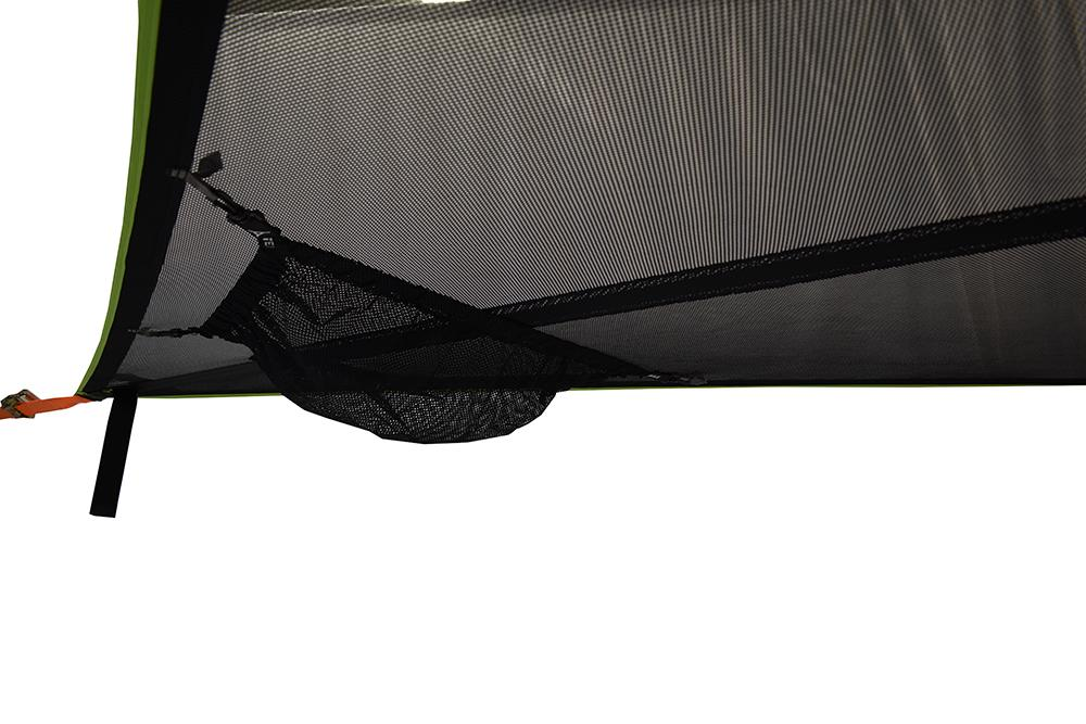 Underfloor Storage on Trillium Giant 3-Person Hammock (Black Mesh)