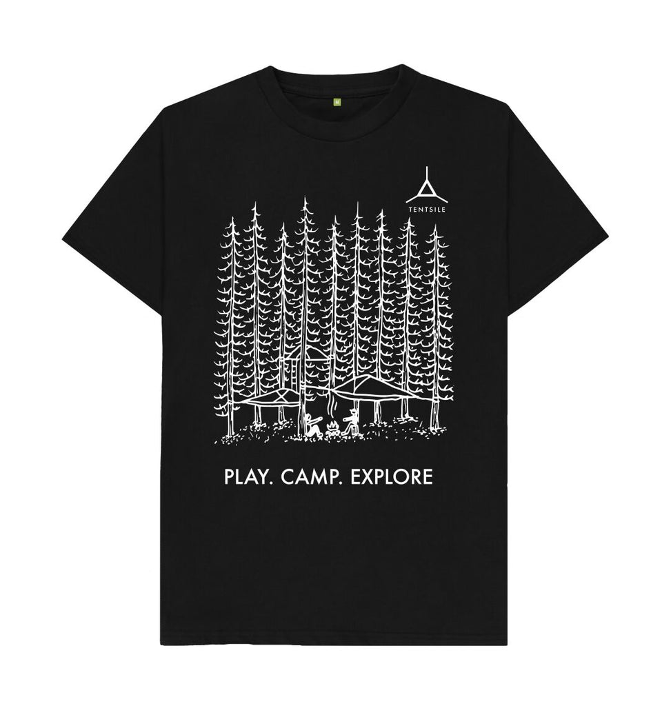 Black Tentsile Tree T Shirt Male