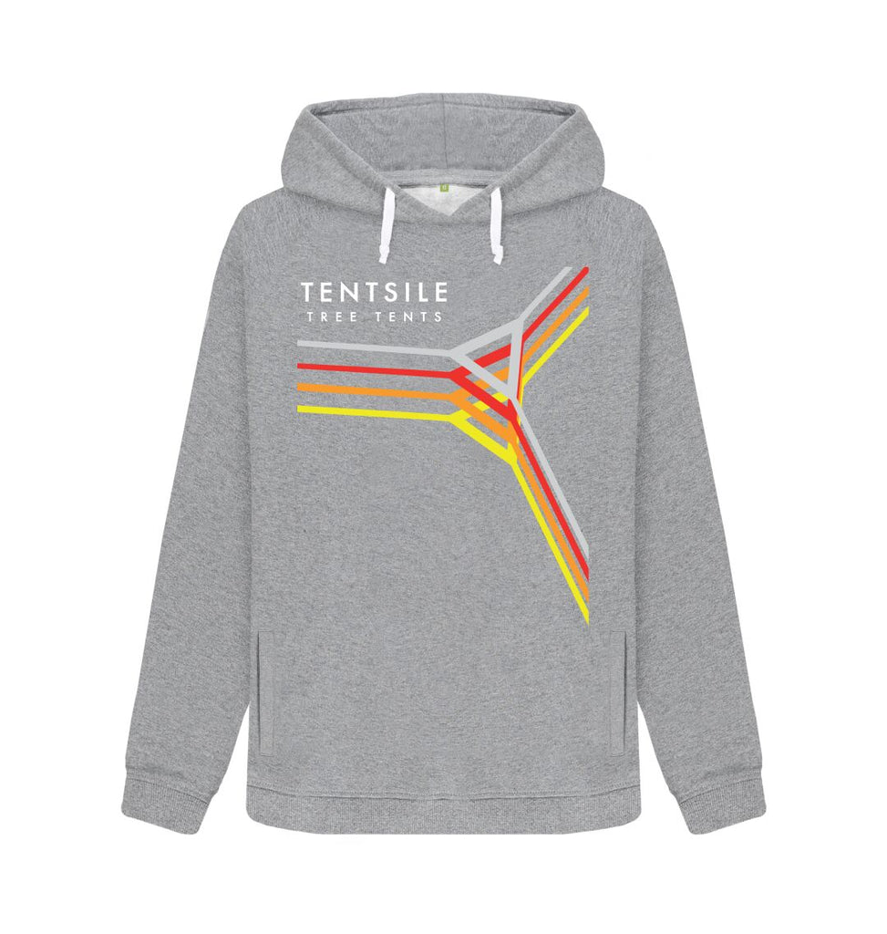 Light Heather Tentsile Retro Hoodie Female