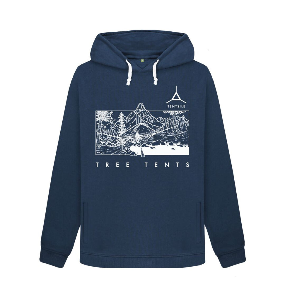 Navy Blue Tentsile Mountain Hoodie Female