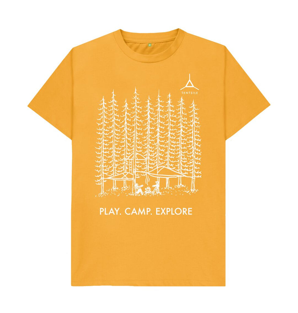 Mustard Tentsile Tree T Shirt Male