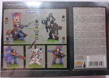 Load image into Gallery viewer, Warhammer 40k Space Marine Command Squad OOP 2000