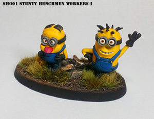 Stunty Henchmen - Workers 1
