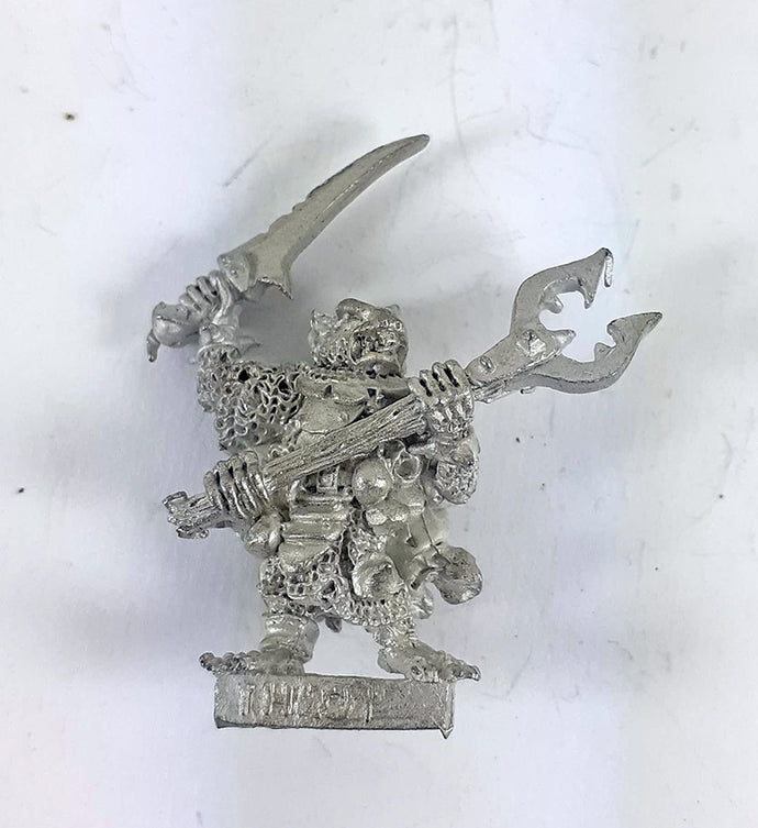 Classic Warhammer Skaven THROT THE UNCLEAN Metal Rare OOP