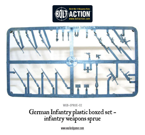 Warlord Games German Infantry Weapon Sprue