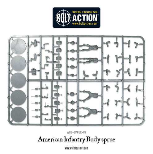 Warlord Games US Infantry Sprue