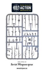 Warlord Games Soviet Infantry Weapon Sprue