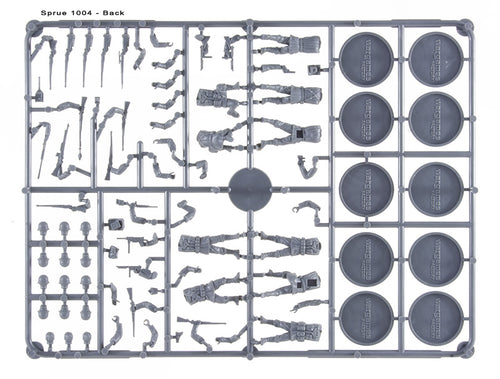 Wargames Factory US Infantry & Weapon Sprue