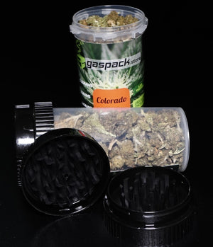 14 Gram - Cherry Hemp Flower Smalls with Free Grinder Container