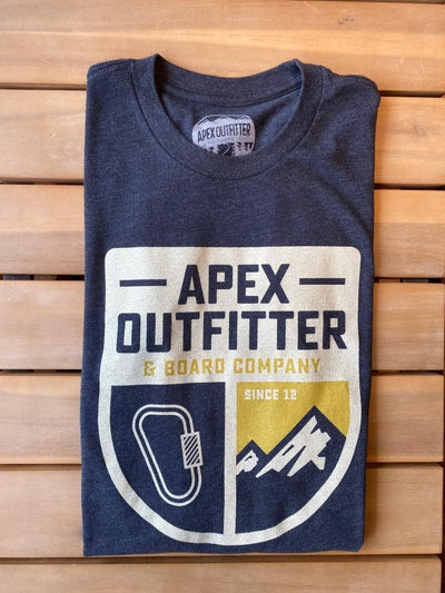 Apex Outfitter Adventure Series Short Sleeve T-Shirt General Apex Outfitter & Board Co XS Climbing