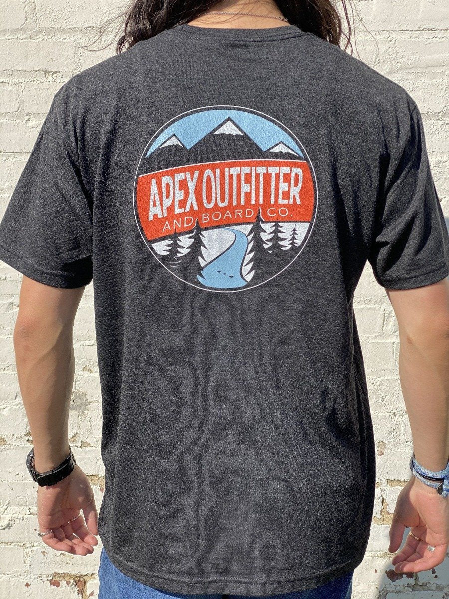 Apex Outfitter Circle Logo T-Shirt General Apex Outfitter & Board Co