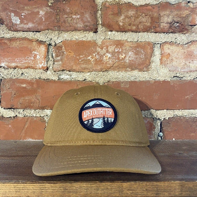 Apex Outfitter Dad Hat General Pukka Brown
