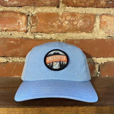 Apex Outfitter Dad Hat General Pukka Heather Sky Blue