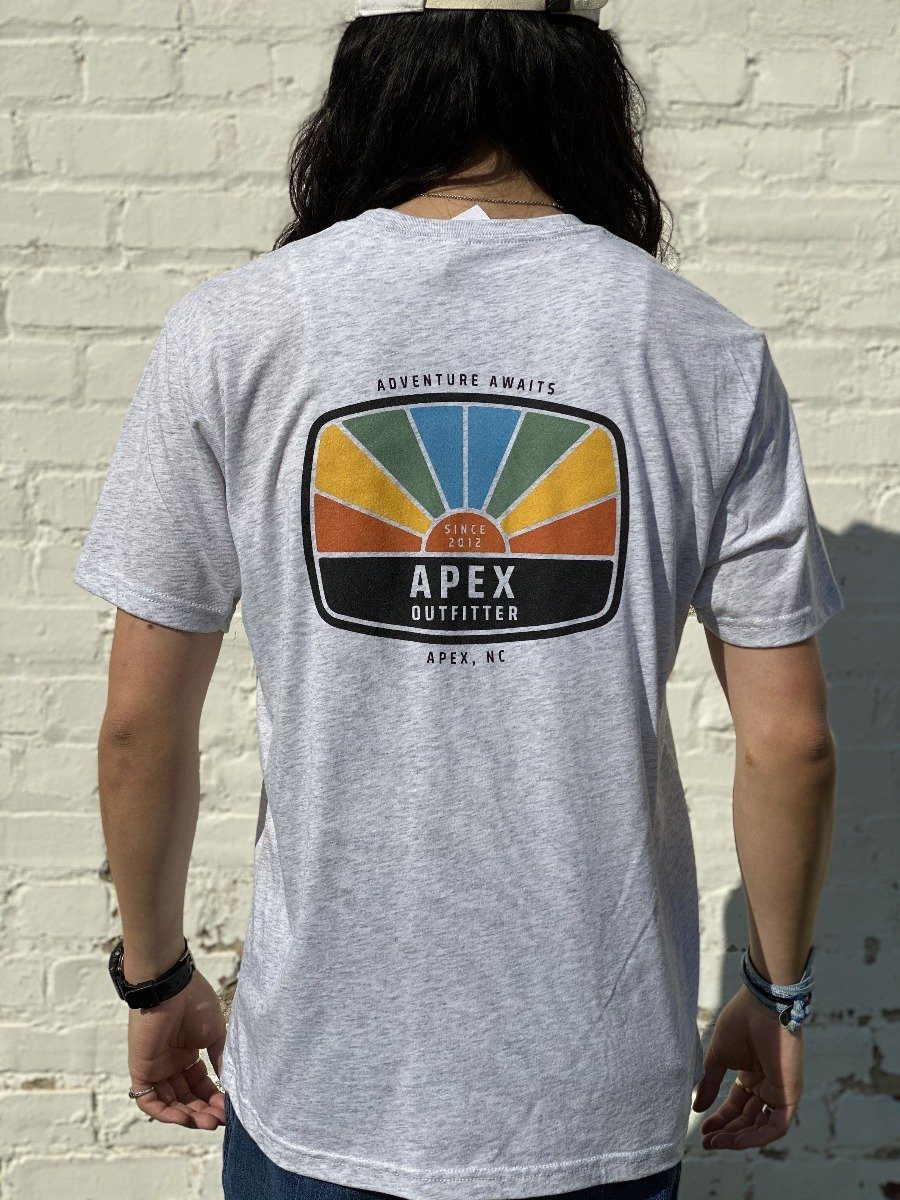 Apex Outfitter Sunset Logo T-Shirt General Apex Outfitter & Board Co