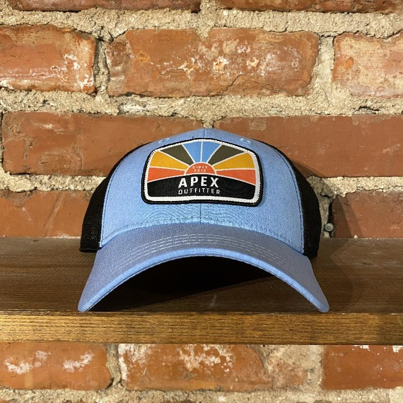 Apex Outfitter Sunset Logo Trucker General Pukka