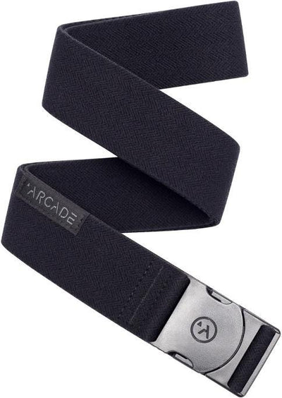 Arcade Midnighter Slim Belt Accessories Arcade Black OS