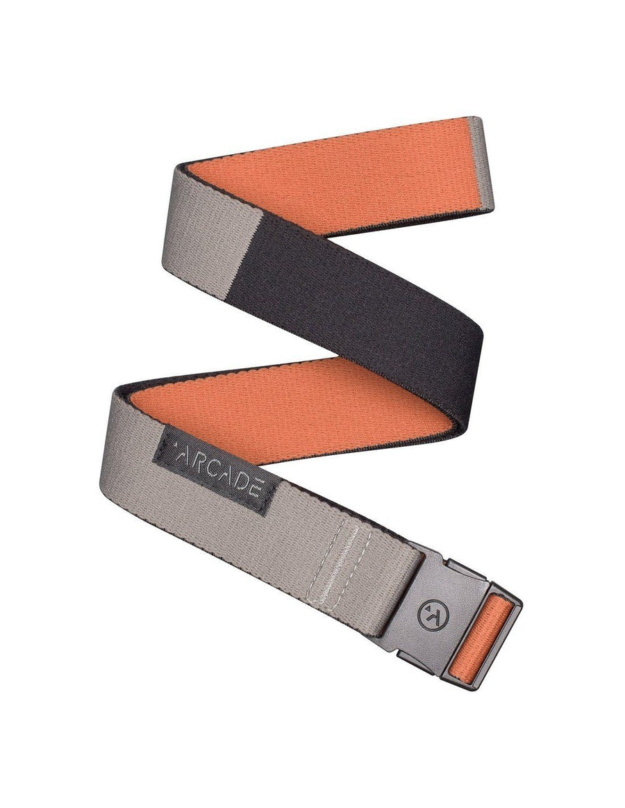 Arcade Ranger Slim Belt - Mens Accessories Arcade Deep Copper/Color Block OS