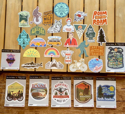 Assorted Stickers Accessories Apex Outfitter & Board Co