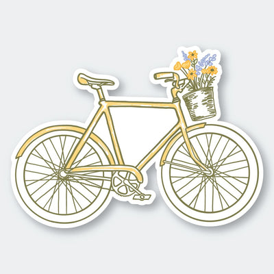 Assorted Stickers Accessories Apex Outfitter & Board Co Bicycle and Flowers