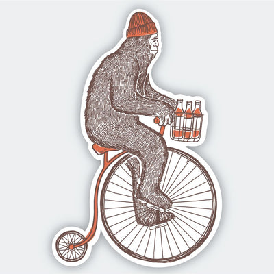 Assorted Stickers Accessories Apex Outfitter & Board Co Bigfoot Vintage Bicycle