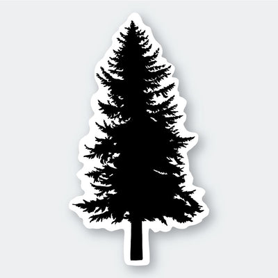 Assorted Stickers Accessories Apex Outfitter & Board Co Black Christmas Tree