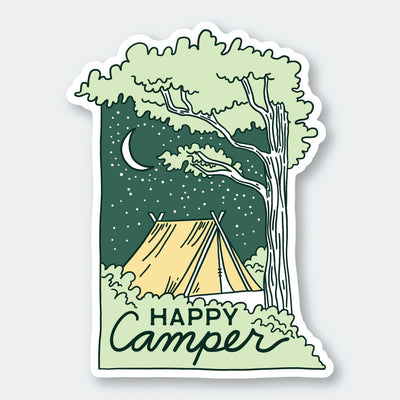 Assorted Stickers Accessories Apex Outfitter & Board Co Happy Camper
