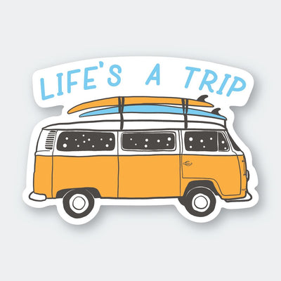 Assorted Stickers Accessories Apex Outfitter & Board Co Life's A Trip Van
