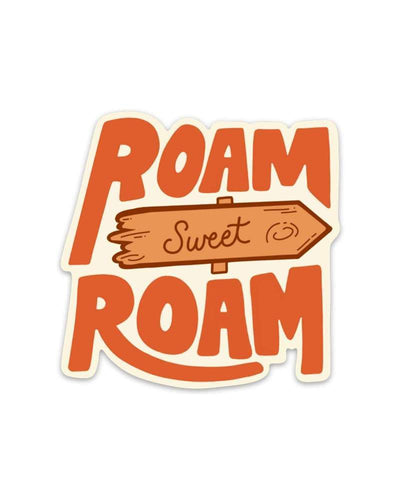 Assorted Stickers Accessories Apex Outfitter & Board Co Roam Sweet Roam