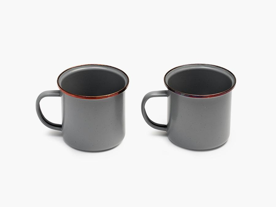 Barebones Living Enamel Cup (Set of 2) General Barebones Living