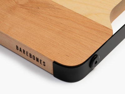 Barebones Living Maple & Steel Cutting Board General Barebones Living