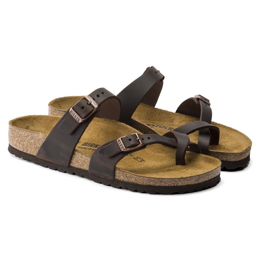 Birkenstock Mayari Oiled Leather (Habana) - Women's General Birkenstock