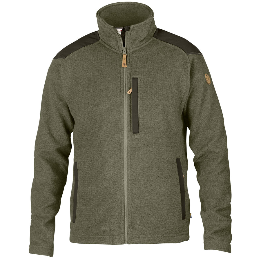 Fjallraven Buck Fleece - Men's Outerwear Fjall Raven Graphite S