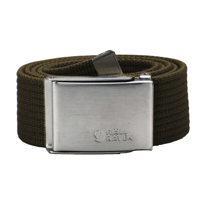 Fjallraven Canvas Belt General Fjallraven Dark Olive